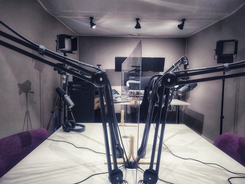 Podcastoryn studio pisarasuoja
